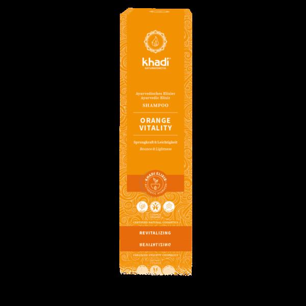 shampooing ayurvedique orange vitality